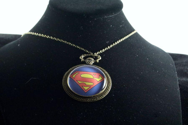 Custom Hero Watch Pendant Brass Finish
