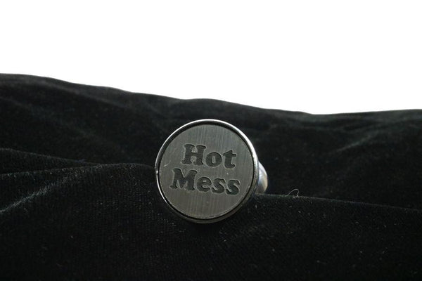 Hot Mess Custom Steel Butt Plug