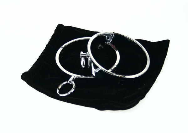 Round Metal Restraints with Lead Ring (style 3)