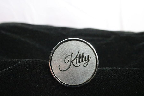 Kitty Custom Steel Butt Plug Script