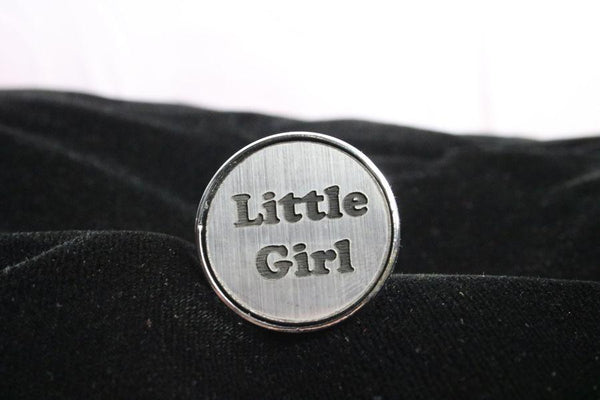 Little Girl Custom Steel Butt Plug