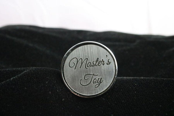 Master's Toy Custom Steel Butt Plug Script