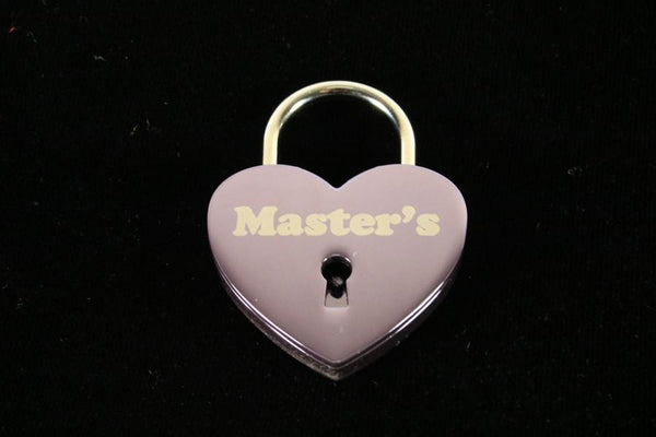 Master's Lock for Chastity Play and Bondage