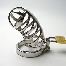 Steel Chastity Cage (Style 17)