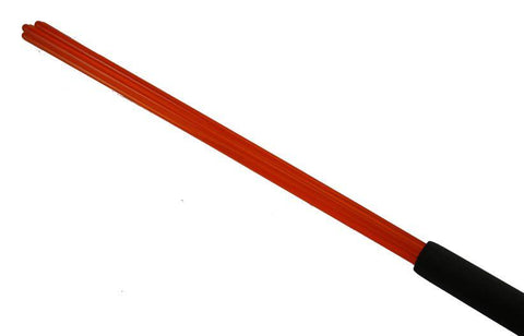 Orange Acrylic Beater Cane 18 inches of Stingy Impact!