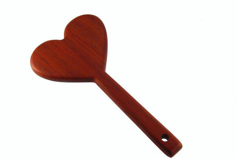BDSM Heart Spanking Paddle Great for OTK!