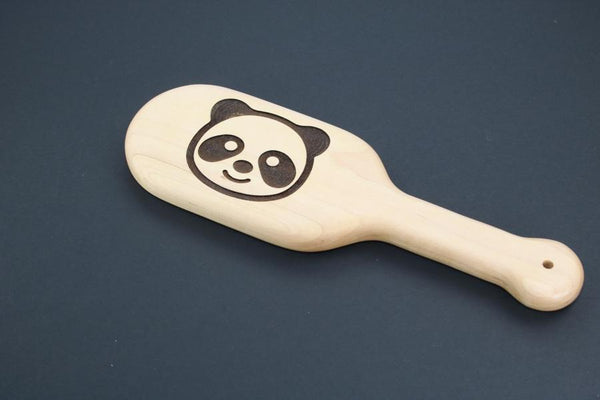 Panda BDSM Engraved Spanking Paddle