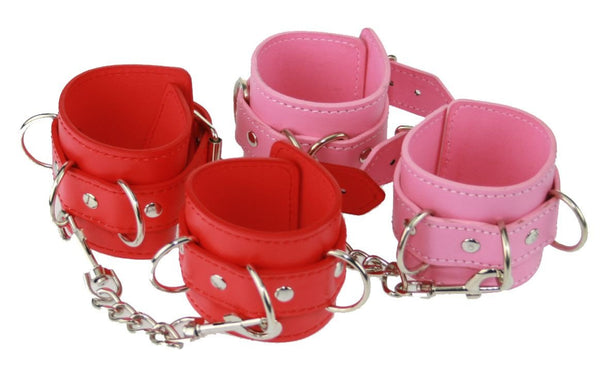 PVC Wrist Restraints With D-Rings (Style 5)