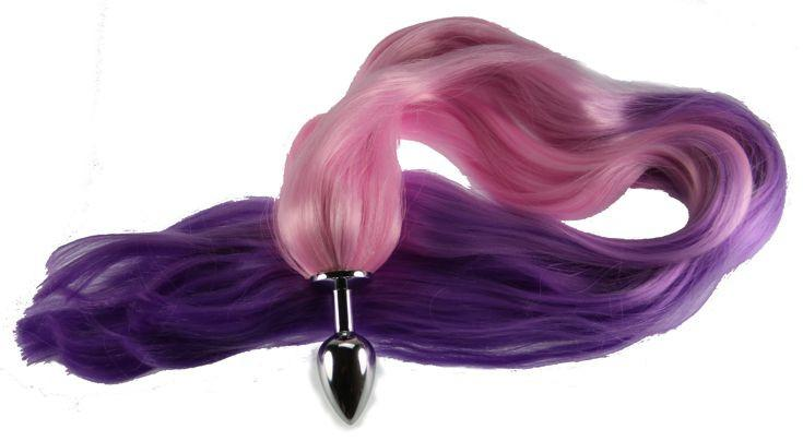 "24"" Touch of Whimsy Pony Tail Butt Plug Synthetic Tail (20)"
