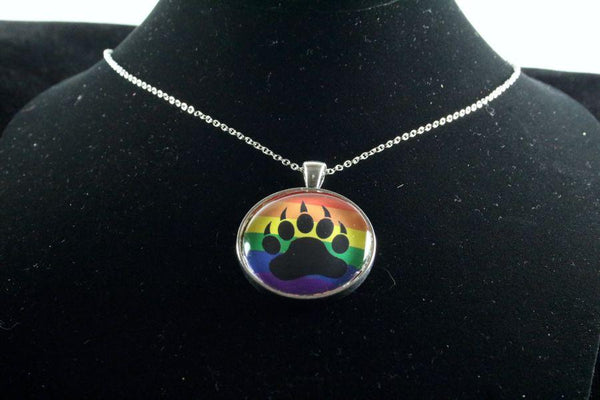 Custom Pride Pendant Silver Finish