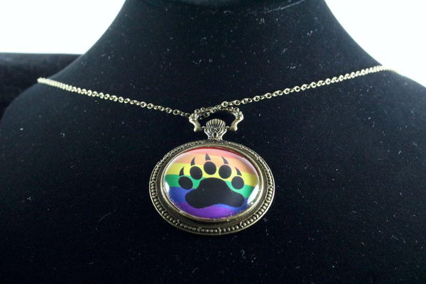Custom Pride Watch Pendant Brass Finish