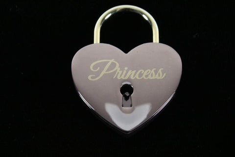 Princess Lock for Chastity Play and Bondage