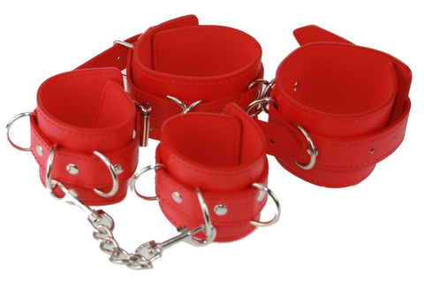 PVC Wrist and Ankle Restraints Kit (Style 5)