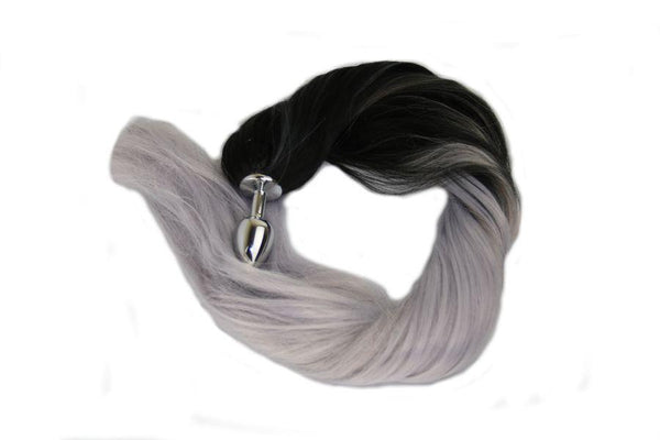 Shadow Pony Tail Butt Plug Synthetic Tail (34)
