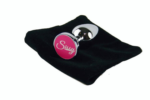 Sissy Custom Solid Steel Butt Plug