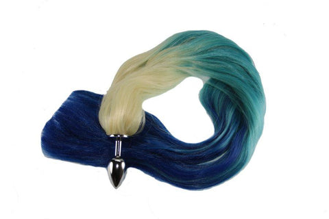 Soft Waves Pony Tail Butt Plug Synthetic Tail (16)