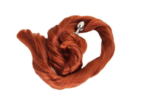 XL Spice Pony Tail Butt Plug Synthetic Tail (40)