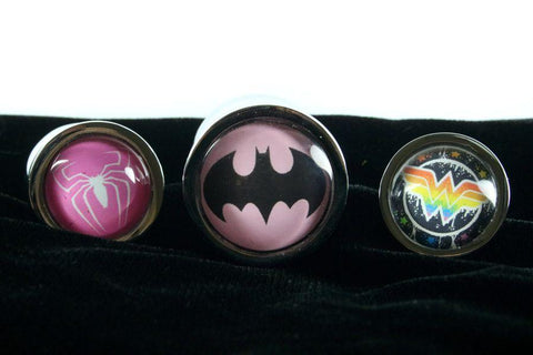 Custom Hero Butt Plug Small Choose Your Image 1-10