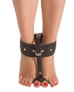 Toe and Ankle Cuffs Vegan Friendly Restraints