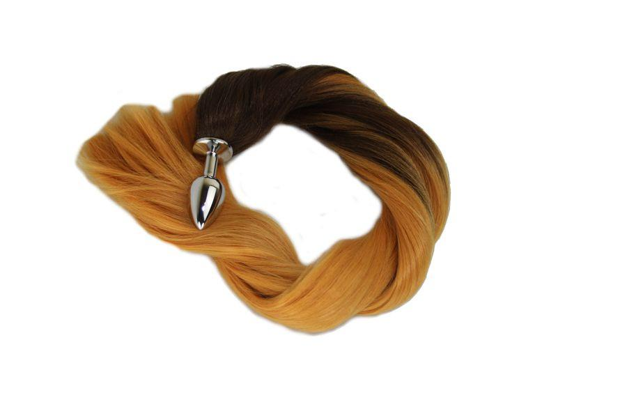 "24"" Thoroughbred Pony Tail Butt Plug Synthetic Tail (19)"