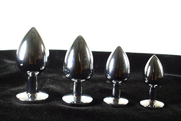 Steel Tulip Jewel Butt Plug Training Kit 4 SIZES