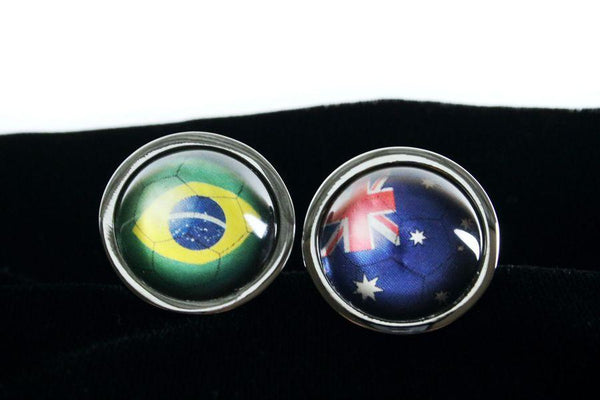 Custom World Cup Flag Butt Plug Large Choose Your Image