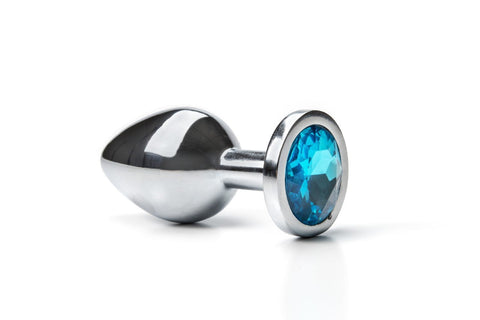 Medium HEAVY Steel Tulip Jewel Butt Plug