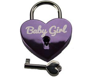 Baby Girl Heart Lock for Bondage