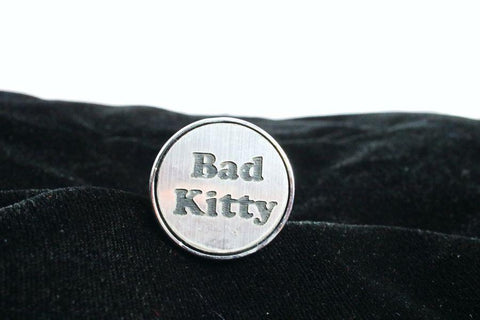Bad Kitty Custom Steel Butt Plug