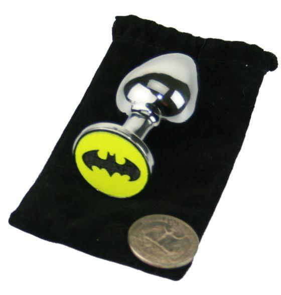 Bat Custom Solid Steel Butt Plug
