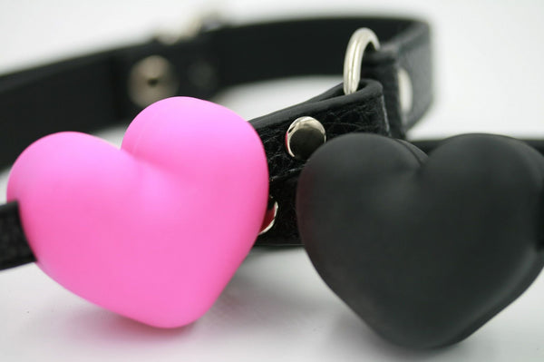 Silicone Heart Gag