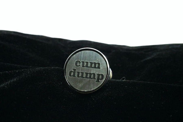Cum Dump Custom Steel Butt Plug