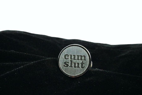 Cum Slut Custom Butt Plug Long