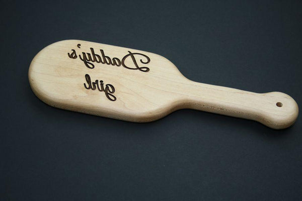 Daddy's Girl Spanking Paddle by The Kink Factory