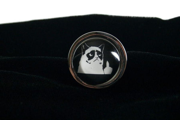 Grumpy Cat Custom Steel Butt Plug Advanced