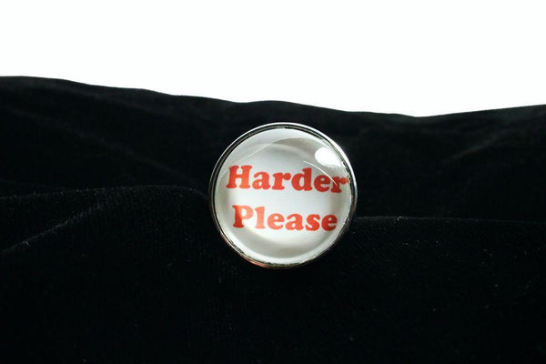 Harder Please Butt Plug