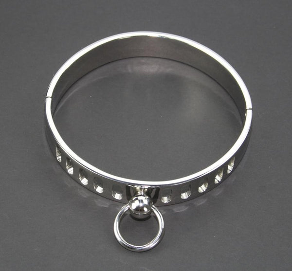 Massive Necklace Stainless Steel Slave Collar