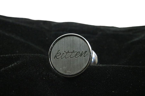 Kitten Custom Steel Butt Plug Script