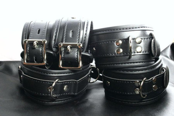 Complete Padded Locking Restraints Kit (style 14)