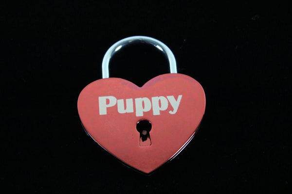 Puppy Lock for Chastity Play and Bondage
