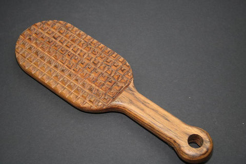 BDSM Medium Tenderizer Spanking Paddle Great for Sensation Play and OTK