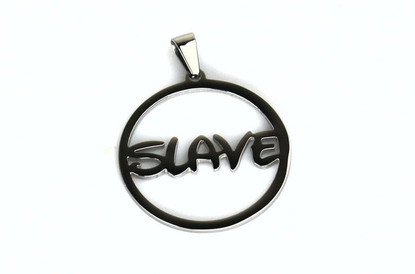 Slave Stainless Steel Pendant