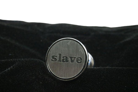 slave Custom Solid Steel Butt Plug