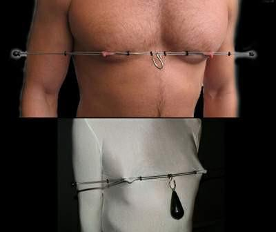 Steel Thai Pain Stick for Nipple Play
