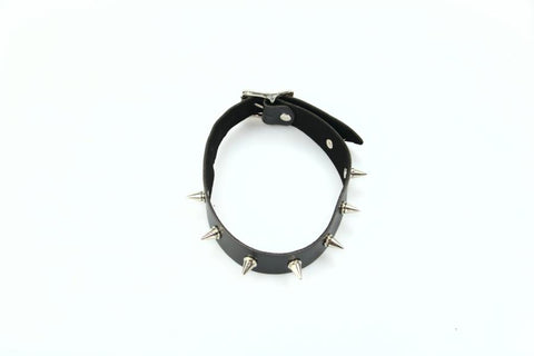 Thin Spiked Collar  (Style 13)