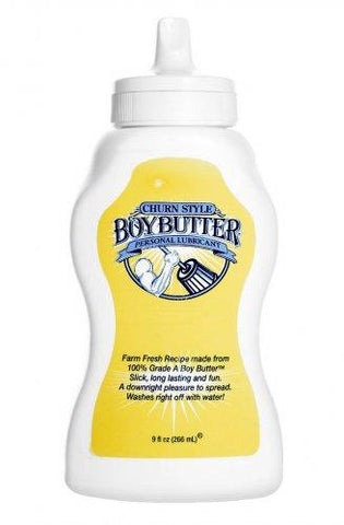 Boy Butter 9oz Squeeze Bottle Lubricant