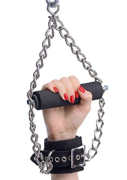 Suspension Cuffs with Bar Vegan Friendly Restraints