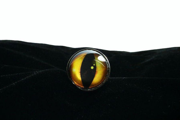 Yellow Dragon Eye Butt Plug