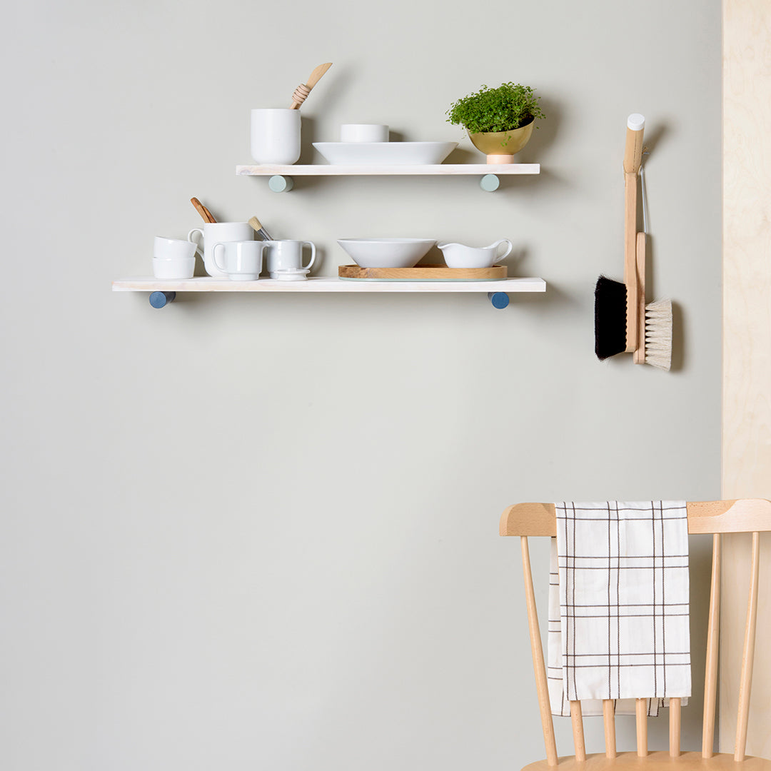 shelf styling with Loop