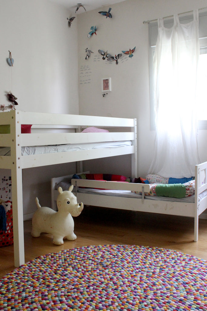 Bright and modern kids room in Tel Aviv